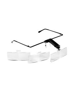 Okulary do przedłużania rzęs z lampą LED