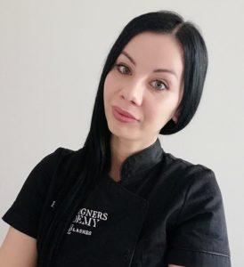 Instruktorka Eye Designers Academy Emilia Kamińska