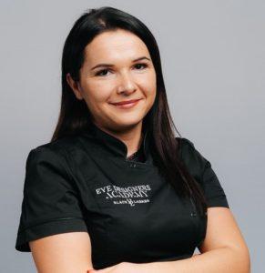 Instruktorka Eye Designers Academy Agnieszka Pieczonka