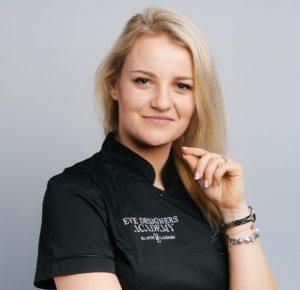 Instruktorka Eye Designers Academy Paulina Zaleska